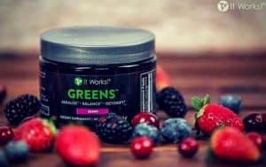 it works greens taste